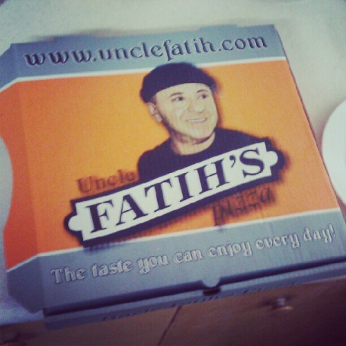 Best! #pizza #unclefatihs #best  (Taken with Instagram)