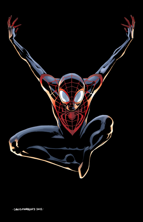 Ultimate Spider-Man by David Marquez.