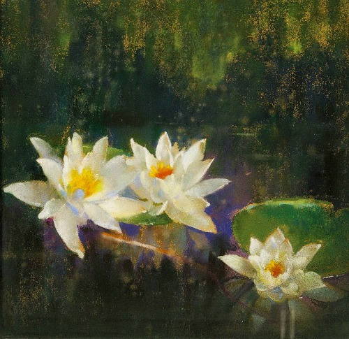 Laura Coombs Hills Waterlilies Late 19th - early 20th century