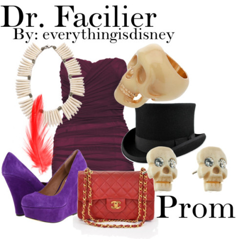 Dr. Facilier-Prom by everythingisdisney.