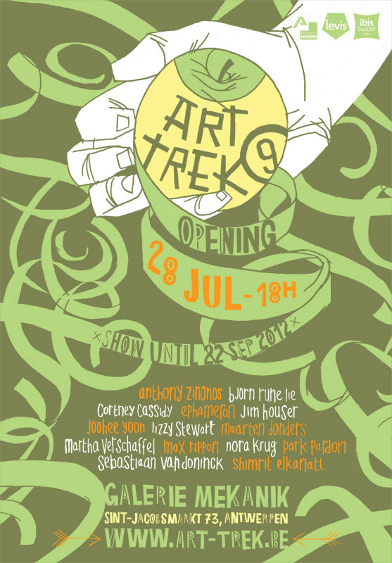 artTREK9super excited to be involved in this group show next month…http://www.art-trek.be