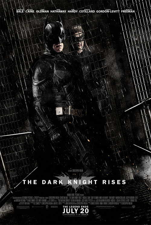 legendends:  Batman & Catwoman fan made poster