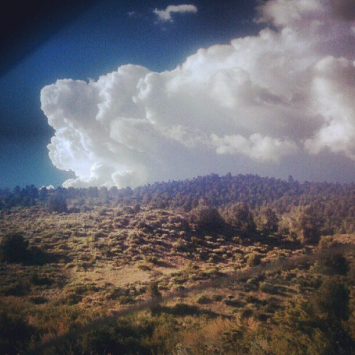 #nevada #clouds #tahoe  (Taken with Instagram)
