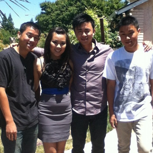 My sister and brothers! (Taken with Instagram)