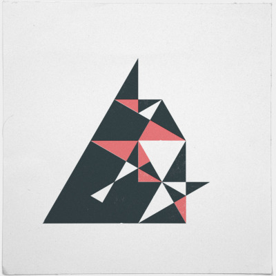 geometrydaily:  #177 Attack – A new minimal geometric composition each day
