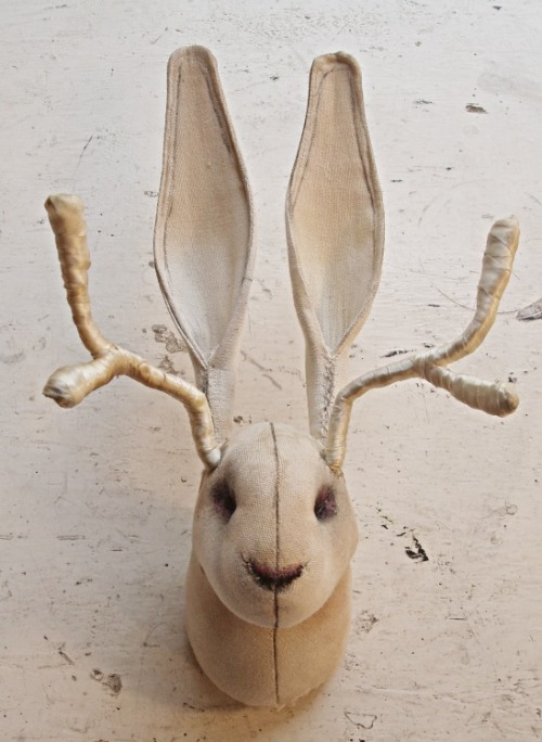 ohmisterfinch:  Jackalope by Mister Finch