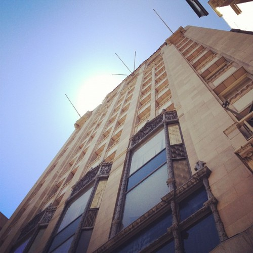 exploring #dtla.. Loving this lazy Sunday (Taken with Instagram at Cicada Club)