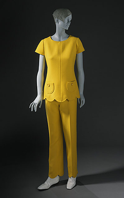 Ensemble André Courrèges, 1966 The Los Angeles County Museum of Art