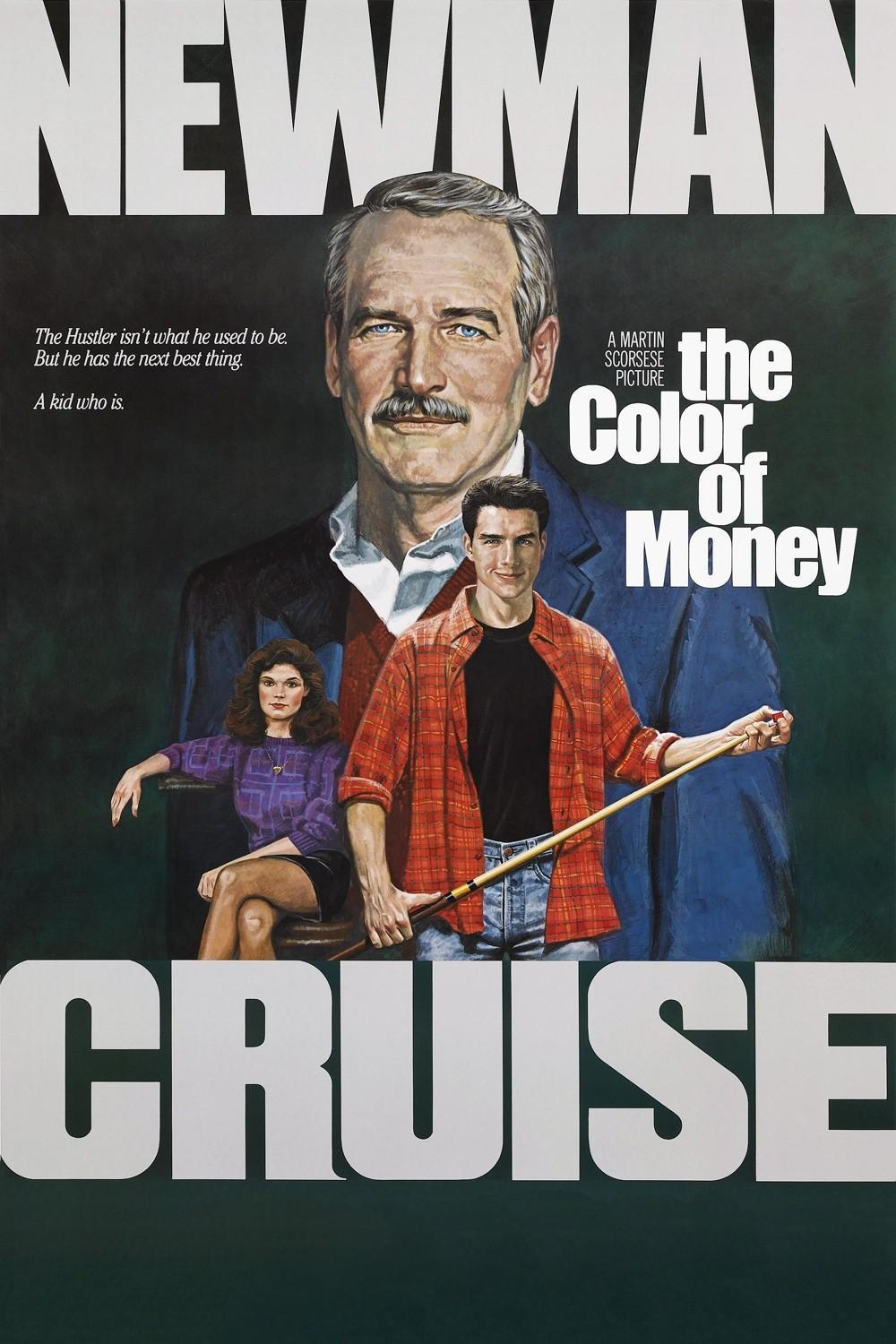 Movies I've Seen in 2012 130.  The Color of Money (1986) Starring:  Paul Newman, Tom Cruise, Mary Elizabeth Mastrantonio Director:  Martin Scorsese Rating:  ★★★/5