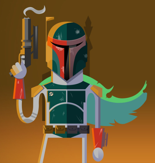 xombiedirge:  Boba Fett by Jason Custer