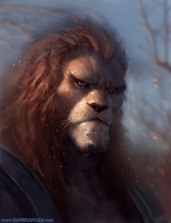 Lion O by *DavidRapozaArt —-x—- More: | David Rapoza | Random |