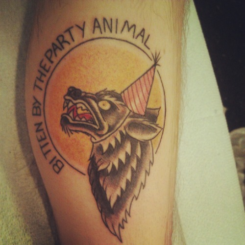 "Based on the Every Time i Die song ""We'rewolf."""