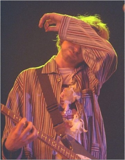 kurtandcourtneydaily:  Kurt Cobain, 1993.