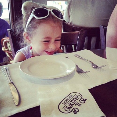 Big Girl (Taken with Instagram at Il Giardino Ristorante)