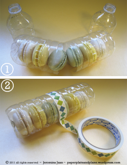 petrascreations:  Recycled packaging for cupcakes and cookies  Great idea when you're stuck!   http://paperplateandplane.wordpress.com/2011/09/25/recycled-packaging-for-cupcakes-cookies-and-macarons/   that could work for a gift too