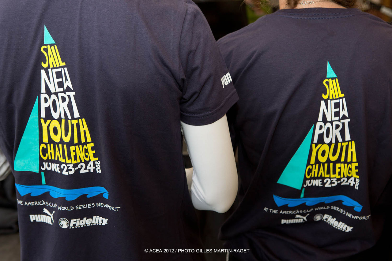 Sail Newport Youth Regatta t-shirts - pretty cool!