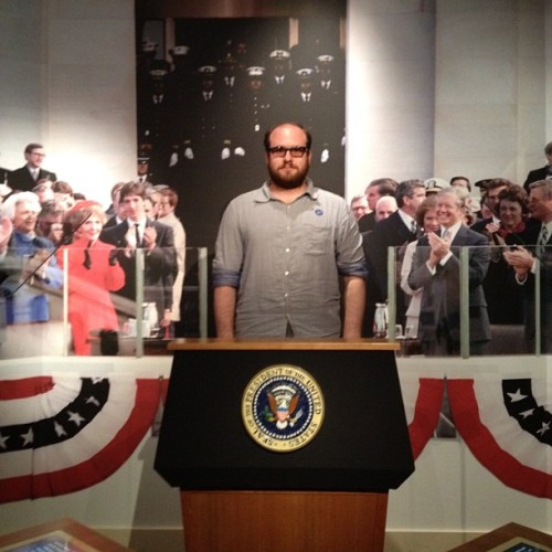 President @tothemaxxx (Taken with Instagram at Ronald Reagan Presidential Library)