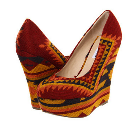 Steve Madden Tribal Wedges