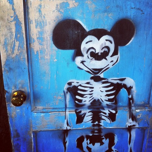 #mickeymouse #skulls  (Taken with Instagram)