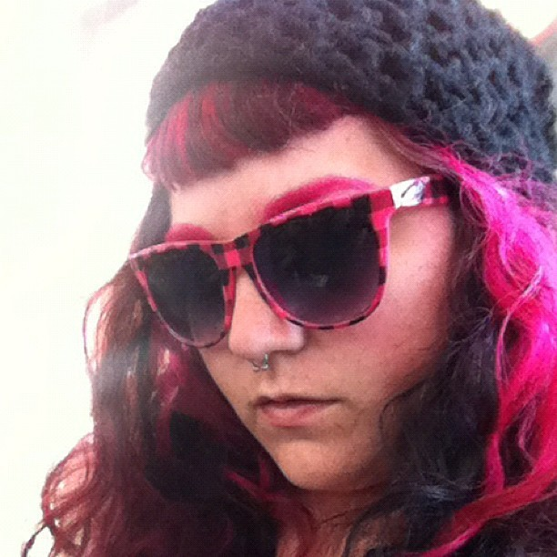 #pink #pinkhairdontcare  (Taken with Instagram)