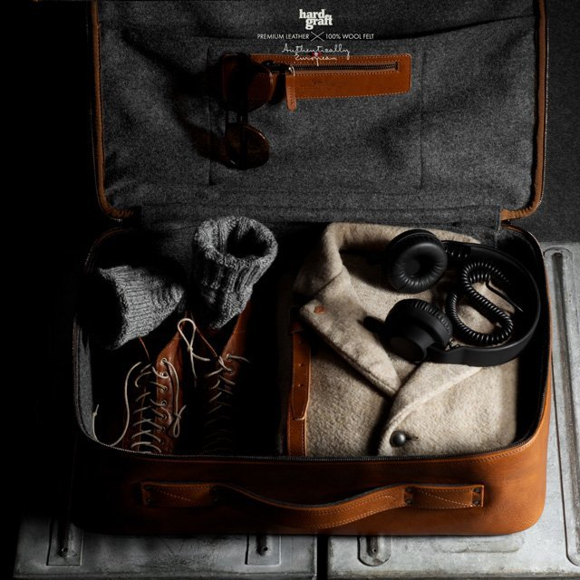 manchannel:  Carry On Suitcase by Hard Graft