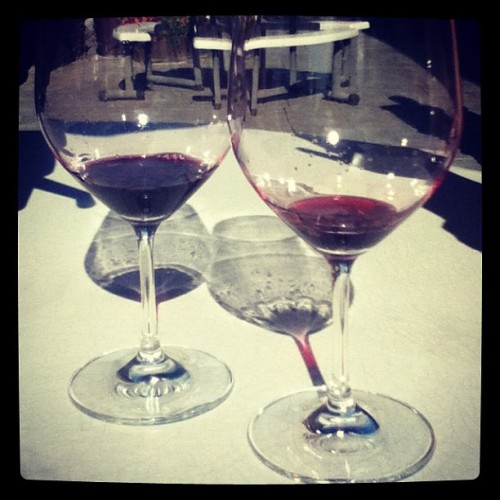 Vino sippin all day long @amandakh  (Taken with Instagram)