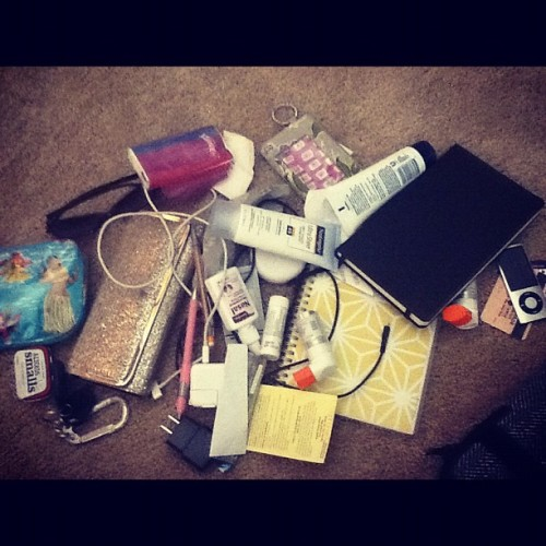 And then you try to clean out your purse… (Taken with Instagram)