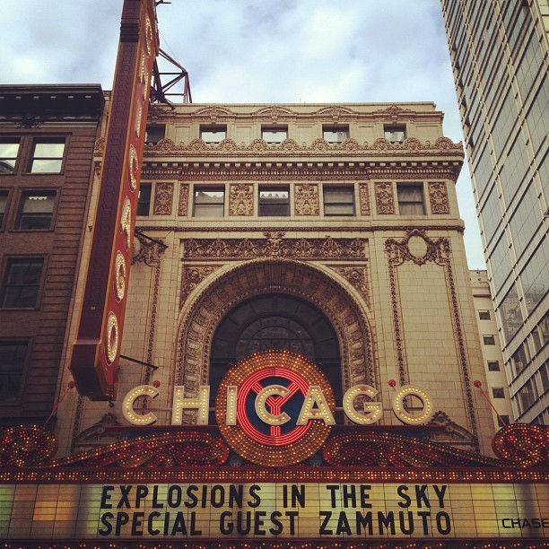 nickgerber:  Taken with Instagram at Chicago Theatre