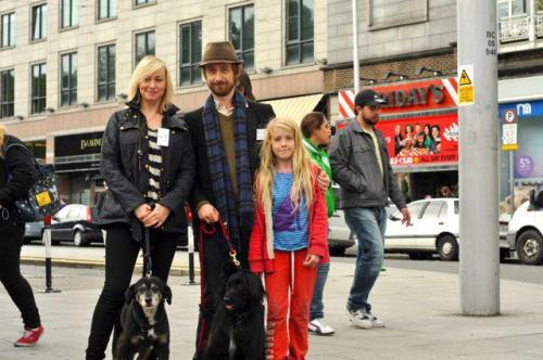 Neil and Cathy Davey joined Greyhound Rescue Association's dogs walk in Dublin. check out more pictures here