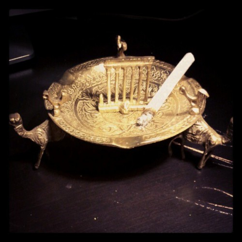 New ashtray (Taken with Instagram)