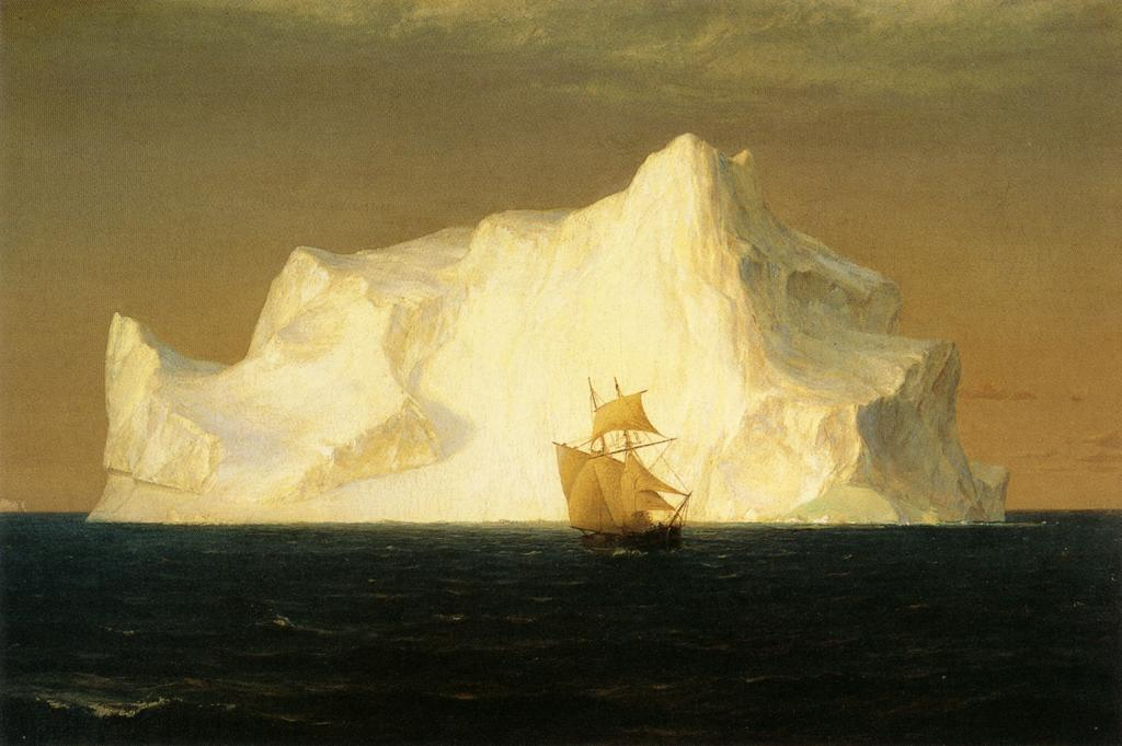 cavetocanvas:  Frederic Edwin Church, The Iceberg, 1891