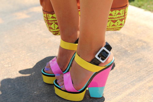 fun heels!!! colors…