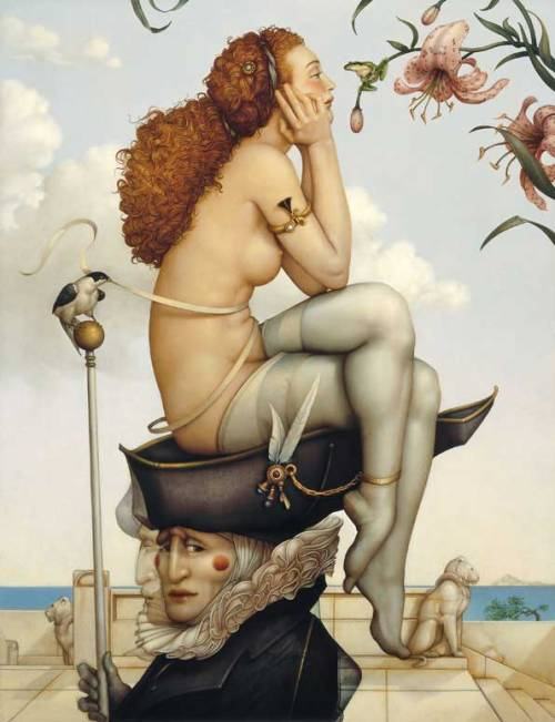 Michael Parkes Summer and Winter