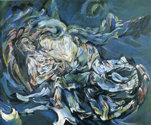 artmagnifique:  OSKAR KOKOSCHKA. Bride of the Wind, 1914. Expressionism.