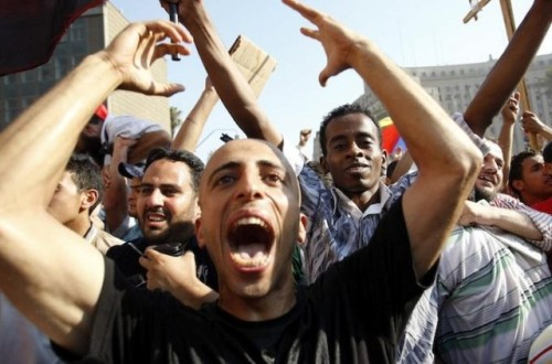"Egyptian election results bring cheers of joy, waves of worry Egypt reacts to elections: Supporters of Mohammed Morsi celebrated in Tahrir Square as election results were read over loudspeakers. ""We're finally going to be respected, we've been oppressed for too long,"" said, Adham Lotfy, a 28-year-old owner of a parking garage. However, not everyone is as ecstatic as members of the Muslim Brotherhood. ""I'm very sceptical, and I fear what is still to be done,"" said an anonymous woman to Al Jazeera reporter, Evan Hill. source Follow ShortFormBlog: Tumblr, Twitter, Facebook"