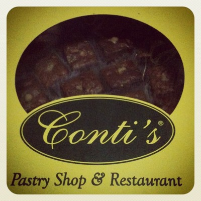 My breakky…Conti's Food for the Gods #sheycapati #conti's #food4thegods #myfave #happyme #thankful  (Taken with Instagram at Capati's Home)