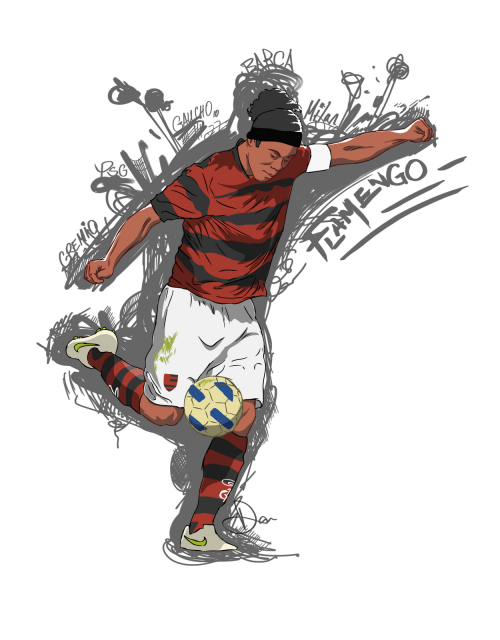 Ronaldinho. A wizard on the ball.