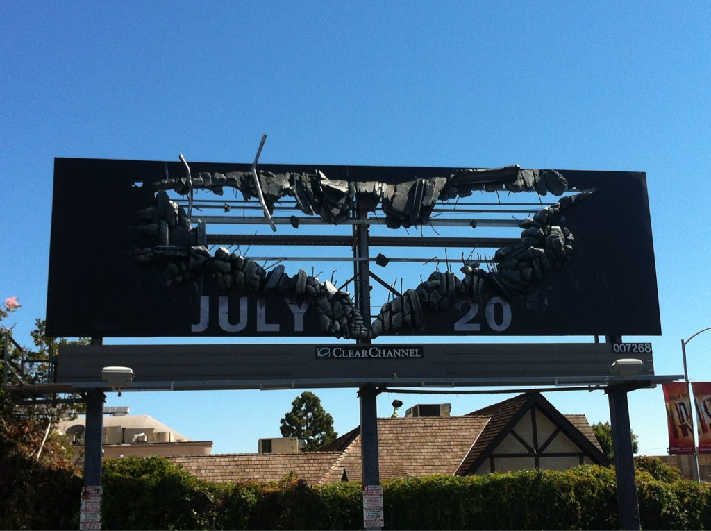 Been wondering all day… did they actually rip apart a billboard to make this, or just attach mock-debris around an area painted to look like such. That answers that. Wonder how much extra they had to pay to be able to tear the thing apart like that…