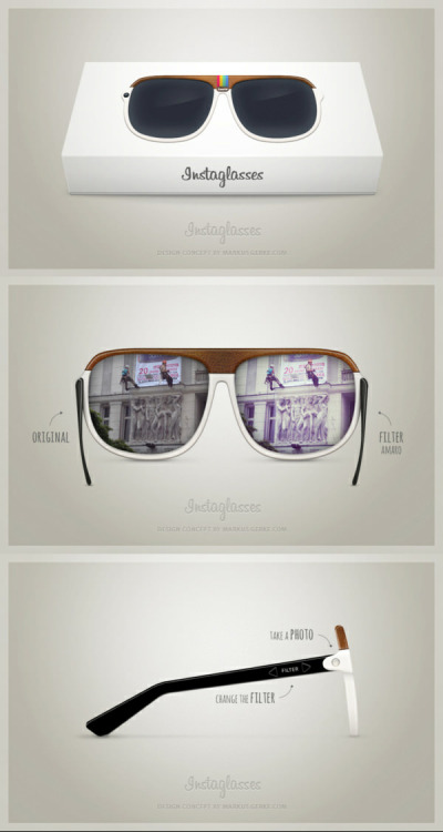 The Instagram Glasses Concept By Markus Gerke