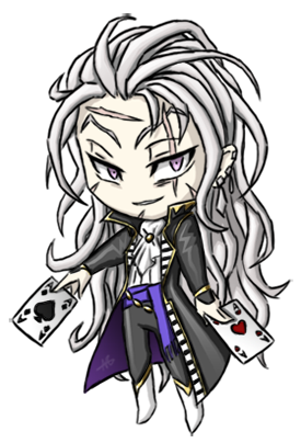 Chibi Setzer by ~Coley-wog Final Fantasy VI had the most interesting characters in the series in my opinion. Setzer was clearly one of my favourites, along with Celes, Sabin or Mog. :)