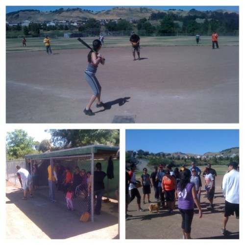 3rd Annual Mandap Family & Friends Softball Game (Taken with Instagram)