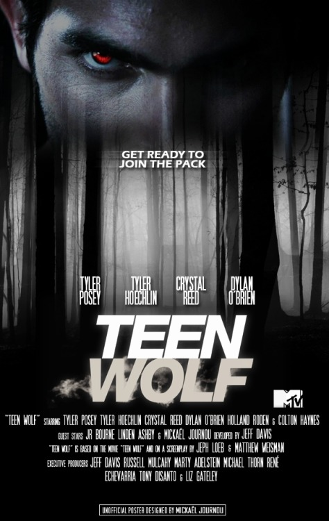 teenwolfartworks:  Teen Wolf Poster Designed by Mickaël Journou (@KalElDeKrypton)   why is this not the cover of the S1 DVD box