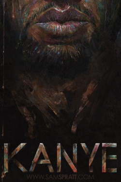 Kanye West by Sam Spratt