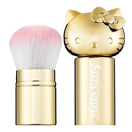 mourningdovestudios:  Hello Kitty retractable kabuki brush