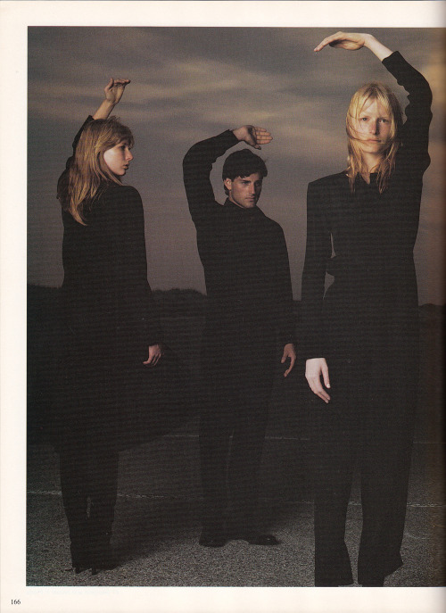 Vogue Italia 1997 The real question is, what are they doing?