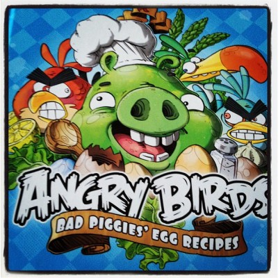 toointerestingfortwitter:  #angrybirds recipe book! (Taken with Instagram)  this is this kind of present you can look forward to me giving you when you get married.