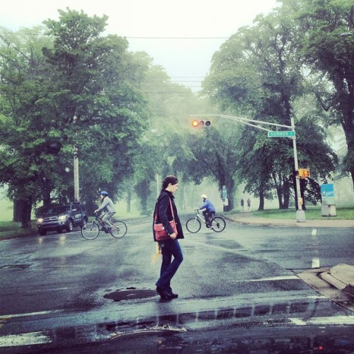 Foggy start to the day in Halifax. #fog #halifax #rain #summer #delicious #instagramhub  (Taken with Instagram)
