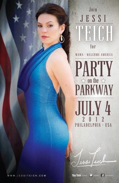 Come Party on the Parkway with me this July 4th!! Woohoo!!