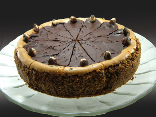 beauty-andthe-feast:  Chocolate Hazelnut Cheesecake   queued :) x more delicious pictures here! :)
