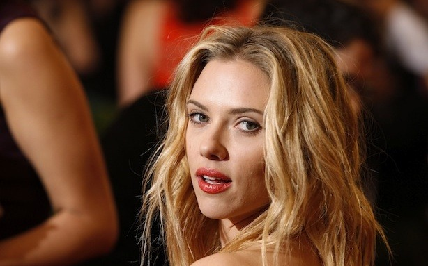 Scarlett Johansson caught off guard